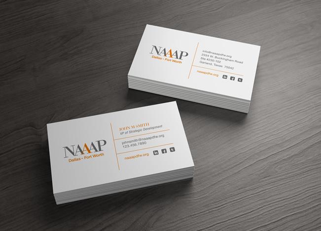 Branding and design for naaap dallas fort worth business card design for naaap dallas fort worth colourmoves